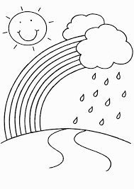 rainbow coloring page fresh rainbow coloring book rainbow coloring pages for childrens