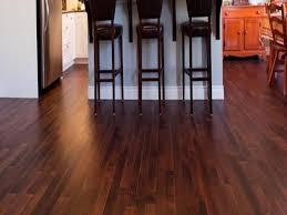 dark wood floors with light cabinets and dark wood floors with light grey walls