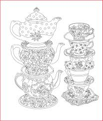 Tea Party Coloring Pages 45973 Collection Of Tea Party Coloring