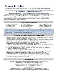 Interesting Resume Template Technical Writer For Sample Resume