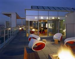 rooftop furniture. Fire Pit, Roof Terrace, Night, Garden Furniture Rooftop O