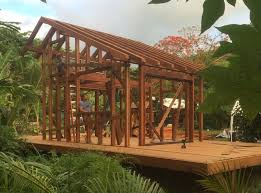 hawaii tiny house. Artist Builds Gorgeous 200-Sq.Ft. House Out Of 25,000 Pounds Salvaged Redwood In Hawaii | Inhabitat - Green Design, Innovation, Architecture, Tiny I
