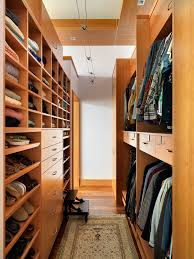 even simple wall closets could be used to organize your clothes in style