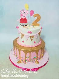 Peppa Pig Birthday Cake Tips For Birthday Cake Designs Tips For