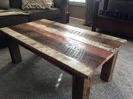 diy reclaimed wood table reclaimed barn wood coffee table crafts diy reclaimed wood dining room table