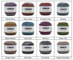 Caron Cakes Color Chart Caron Tea Cakes New Colours For Fall 2017 Tea Cakes Caron
