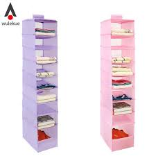 2019 9 cell hanging box underwear sorting clothing shoe jean storage mails door wall closet organizer closet organizadores bag from cansou 32 37 dhgate