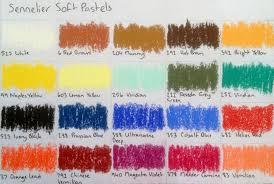 Rembrandt Pastel Color Chart Soft Pastels Sennelier Soft Pastels Review Artdragon86