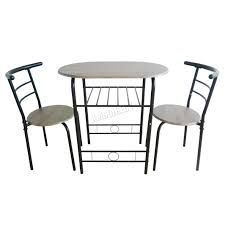 westwood compact dining table breakfast bar 2 chair set metal mdf rh co uk miami red glass dining table and 2 chairs breakfast set