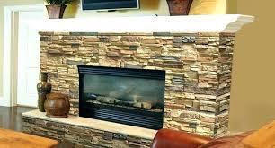 fireplace rock faux stone panels for brick veneer interior gas rocks