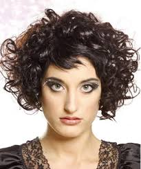 Curly Short Hair Style hairstyles for short hair curly round face 1636 by wearticles.com