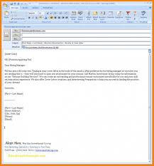 Resume Email Beauteous Email Template For Sending Resume Sample Fresh Trenutno