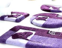 large purple rug charming bathroom rugs set sets fl patterned on dark very round