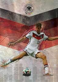 WorldCup Goal Posters on Behance : Thomas Müller Germany v | Красивые  мужчины, Футболисты, Мужчины