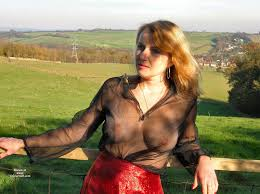Big tits and see through blouse