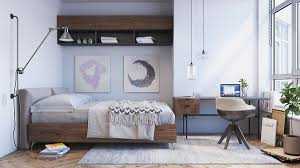 interior design furniture minimalism industrial design. Bedroom:Adorable Scandinavian Design For Woman With White Color Scheme Minimalist Interior Singapore Style Ideas Furniture Minimalism Industrial