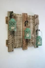 pallet wall decor with antique turquoise by pineknobsandcrickets antique unique pallet ideas