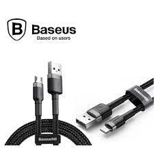 Baseus Cafule Samsung, Xiaomi, iPhone Şarj Kablosu Siyah 1 Metre Fiyatları  ve Özellikleri