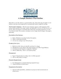 small business startup plan sample starting a business plan template