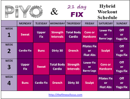 Turbo Fire Workout Schedule Workout Routines