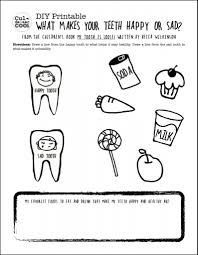 Small Picture Teeth Coloring Pages Preschool Finest Dental Health Mini Coloring