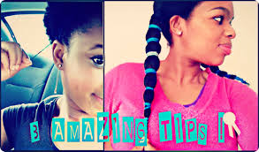 How To Grow Out Natural Hair 3 Tips Twa Youtube