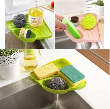 amazon com kitchen sink caddy sponge holder scratcher holder