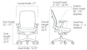 chair seat height desk chair height standard seat office chair seat height 22 inches