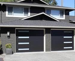 modern garage door. Modern Tech. Our Tech Steel Garage Door A