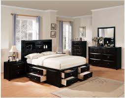King Size Black Bedroom Furniture Sets Bedroom Sleek Black Bedroom Sets Including Bed With Underbed