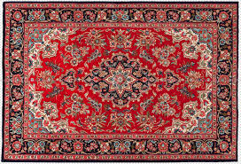 the real persian rugs were formally known as iranian rugs and they were hand knotted in iran you can spot them as they feature a border that emphasizes its