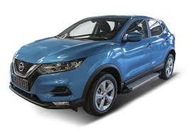 "<b>Пороги</b> алюминиевые ""<b>Silver</b>"" <b>Rival для</b> Nissan Qashqai II 2013 ..."