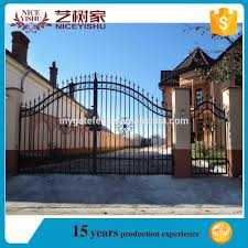 Gate Design Online Factory Modern Wrought Iron Gate Grill Gate Design Simple