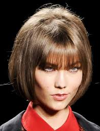 short bob hairstyle ideas for short haircuts with round face shape