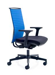 blue task chair office task chairs. Flux Task Chair With Blue Back \u0026 Black Nylon Base. \u2039 \u203a Office Chairs