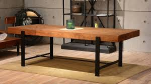industrial kitchen table furniture. Delighful Kitchen Industrial Wood Modern Rustic Dining Table With  Kitchen Decorating Furniture  On Furniture B