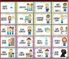Free Classroom Job Chart Clipart Free Images At Clker Com