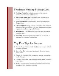 Handout For Freelance Writers By Jennifer Johnson Issuu