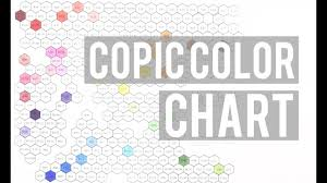 Copic Chart Copic Color Hex Chart