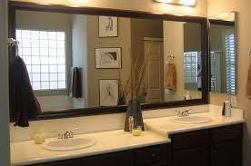 bathroom mirrors when decorating