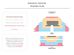 Duchess Theatre Seating Plan Watch The Play That Goes