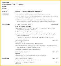 Employee Of The Month On Resume General Job Resume Mazard Info