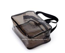 premium pvc carry on pliant bag waterproof travel makeup pouch great for liquids bottles