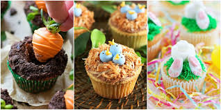 Cupcake Decorating Accessories 100 Cute Easter Cupcake Ideas Decorating Recipes for Easter 18
