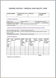Free Online Invoice Forms Custom 48 Medical Invoice Templates Free Invoice Templates Download