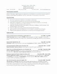 Successfactors Sample Resume Sap Hr Cv Template Job Description ...