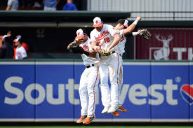 Looking Back At The Orioles Outfield On Opening Day Camden