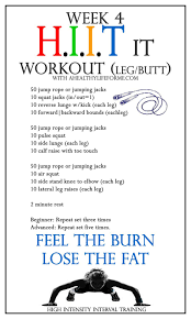 all over hiit it workout week 4 leg ahealthylifeforme com