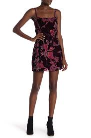 Honey Punch | <b>Spaghetti Strap Floral</b> Dress | Nordstrom Rack