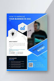 Training Flyer Templates Free Blue Business Training Flyer Template Ai Free Download